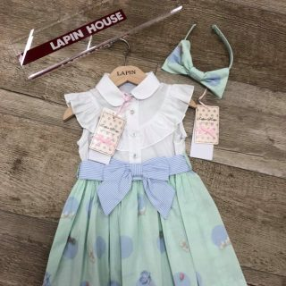 Lapin house polka dot dress