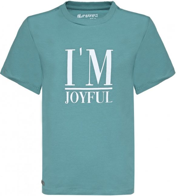Blue Effect T-Shirt I'm Joyful